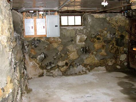 Waterproofing Block Basement Walls by Block And Fieldstone Foundation Wall Repair Foundation