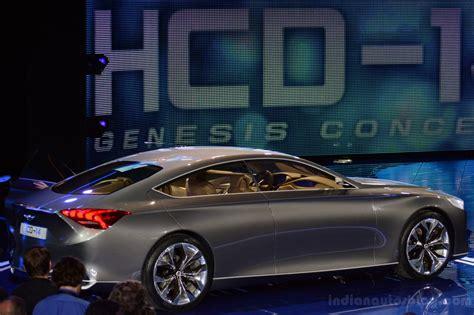 Naias Live Hyundai Hcd 14 Genesis Concept