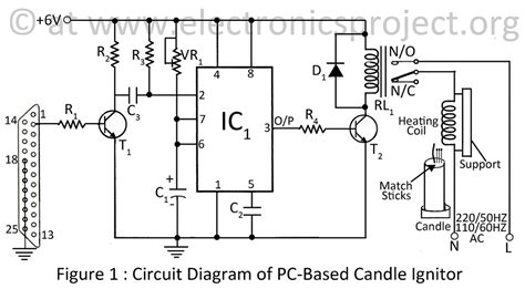 Based Candle Ignitor Electronics Project