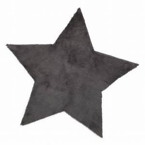 Tapis Enfant Etoile : tapis etoile anthracite pilepoil pour chambre enfant les enfants du design ~ Teatrodelosmanantiales.com Idées de Décoration