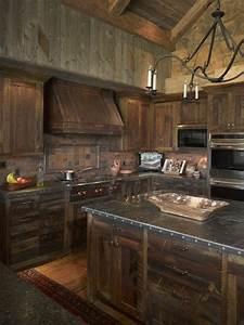 Meuble Bois Fer : la cuisine en bois massif en beaucoup de photos ~ Melissatoandfro.com Idées de Décoration