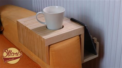 Drink Holder For Sofa by A Plywood Sofa Tray Drink Holder