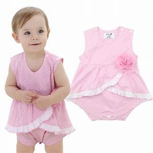 Sanlutoz Baby Rompers Girl Clothing Infant Jumpsuit Baby ...