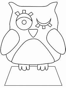 Cute Owl Coloring Pages - AZ Coloring Pages