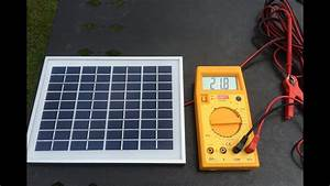 Solar Panel 10w Battery Charger