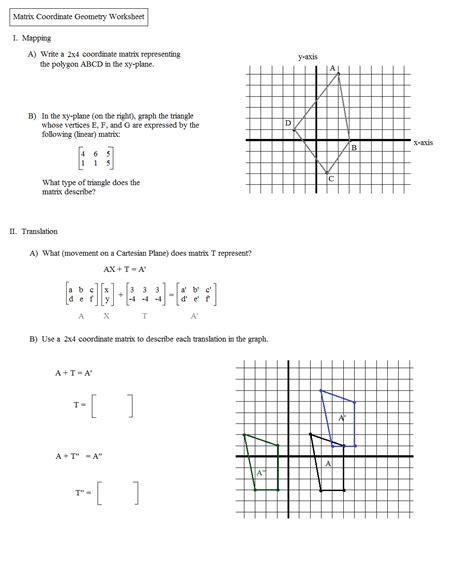 dilation geometry worksheets worksheets for all
