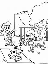 Coloring Boy Pages Sheet sketch template