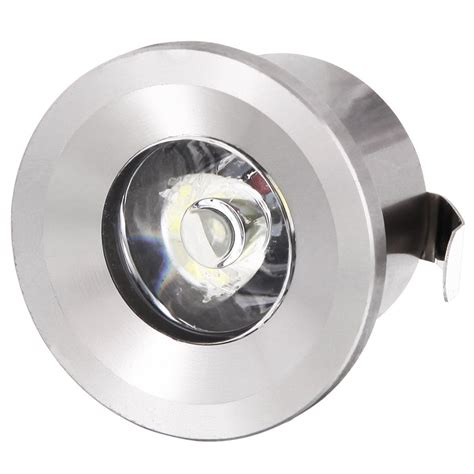 led einbaustrahler mit trafo led spot mini aluminium einbau deckenleuchte einbaustrahler 33mm 80lm trafo ebay