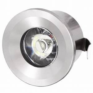 Led Spot 230v : mini led spot aluminium einbauleuchte trafo 230v einbaustrahler einbau strahler ebay ~ Watch28wear.com Haus und Dekorationen