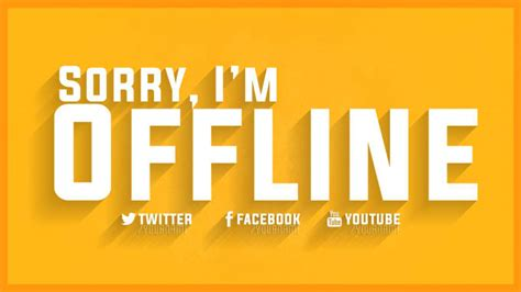 Twitch Be Right Back Screen Template How To by Design An Amazing Twitch Offline Or Brb Screen By Cookoocam