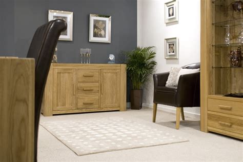 oak livingroom furniture pemberton solid oak living room furniture medium storage sideboard ebay