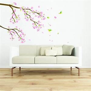 Stickers Arbre Photo : stickers cerisier du japon stickers nature arbres ambiance sticker ~ Teatrodelosmanantiales.com Idées de Décoration