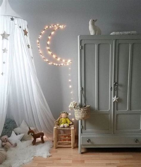white string lights for bedroom 26 string lights ideas to make a kid s room dreamy digsdigs 20159