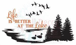 Love the Lakeside? Show it Off! - Wall Decor Plus More