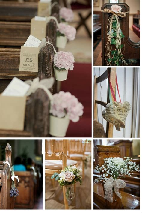 5 easy diy ideas to decorate your wedding pews