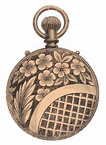Free Clip Art - Antique Pocket Watch - The Graphics Fairy