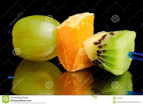 fruit canape stock photo image 7175090