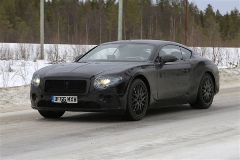 new bentley 2019 bentley continental gt latest spy shots less camo