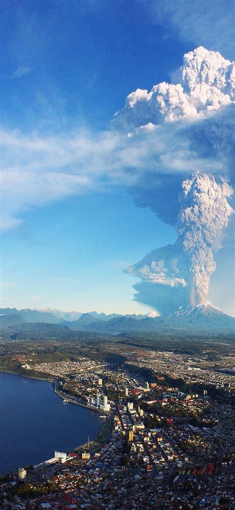 Volcano HD Wallpaper - [1125x2436]