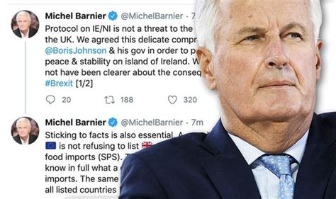 Barnier explodes with fury at Boris Johnson and orders UK ...