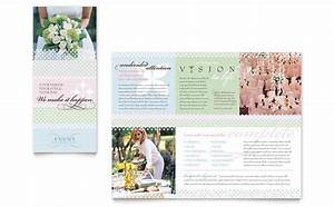 wedding event planning brochure template word publisher With event pamphlet template