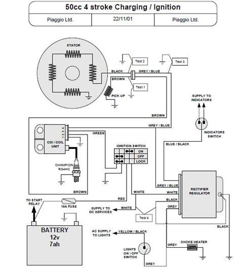 dc cdi wiring diagram 5 pin cdi wire diagram wiring