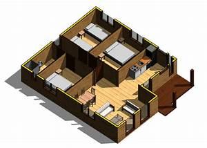 casas de madera modelo Mexico DAYPE