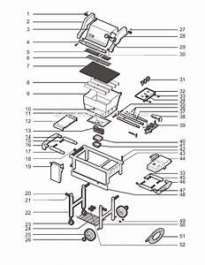 Weber 2391001 Parts List And Diagram
