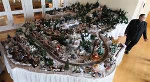 photos father don wolford s christmas model village gallery