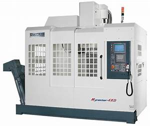 Vertical Machining Center Kitamura Mycenter 4xd For Sale