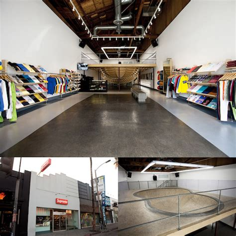 l stores los angeles supreme stores