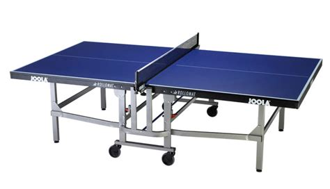 joola rollomat olympic ping pong table gametablesonlinecom