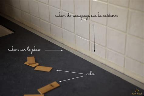credence cuisine stratifié joint plan de travail mur dootdadoo com idées de conception sont intéressants à votre décor