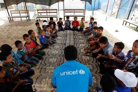 protecting children  violations  abuse  gaza unicef