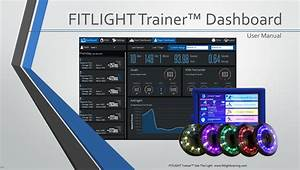 Fitlight Dashboard Manual