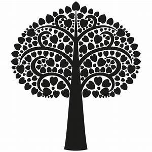 Stickers Arbre Noir : sticker arbre oriental c ur color stickers ~ Teatrodelosmanantiales.com Idées de Décoration