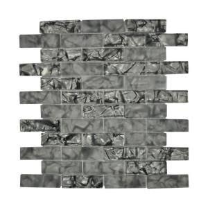 Jeffrey Court Silver Screen Mosaic Tile by Jeffrey Court Silver Lace 11 875 In X 13 In X 8 Mm