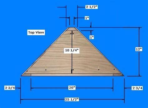 woodworking plans corner shelves