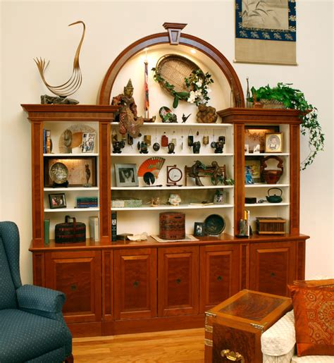display cabinet traditional living room  metro