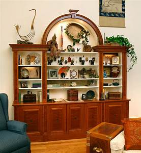 Display cabinet traditional living room other metro for Display cabinets living room