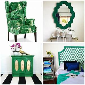 Colour Trend: Emerald Green Furniture! - M-Wall