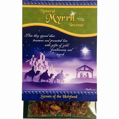 Incense Biblical Myrrh Natural Holy Elements Land