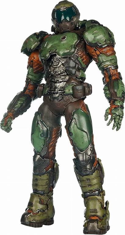 Doom Marine Figure Toys Sixth Sideshow Figures