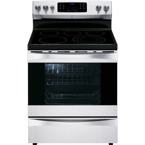 kenmore elite 95053 6 1 cu ft electric range w dual true convection stainless steel
