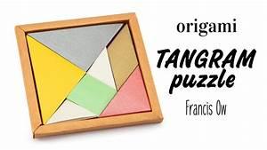 Origami Tangram Puzzle Tutorial  Francis Ow  - Diy