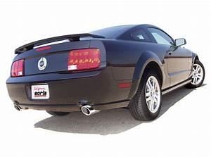 Borla 05-09 Mustang GT 4.6L V8 SS Aggressive Exhaust (rear s