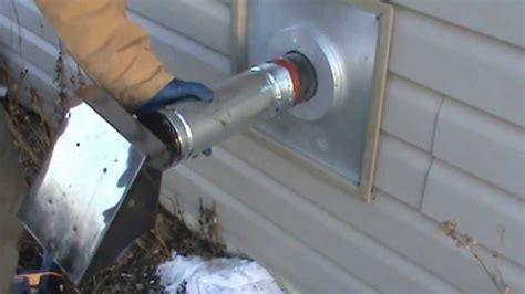pellet stove installation part   description youtube