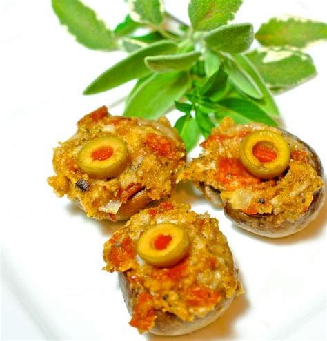 I am sharing this wonderful recipe with all of you. Italian Stuffed Mushrooms - Rosemary and the Goat