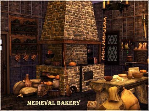 medieval bakery  kiolometro  sims studio sims  updates