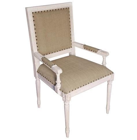 country white wash wood arm chair kathy